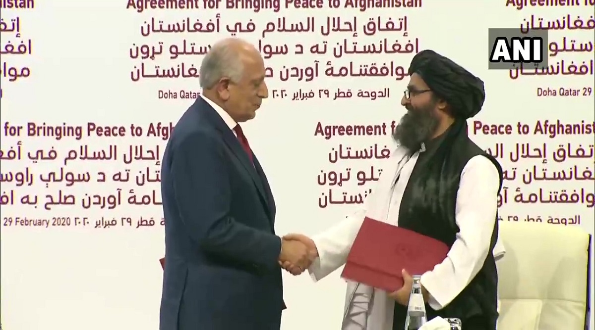 US, Taliban Sign Historic 'Peace Deal' to Bring Normalcy in Afghanistan; Mike Pompeo Says Afghan Soil 'Will Never be Used as Terror Base'