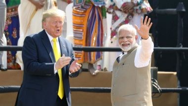 Donald Trump in India, Day 2 Live News Updates: