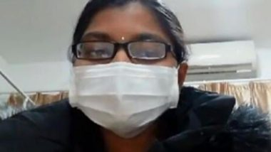 Coronavirus Outbreak: Indian Woman Stranded in China Appeals For Help in an Emotional Video