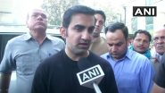 Gautam Gambhir Arranges 1,000 PPE Kits to Combat Coronavirus After Arvind Kejriwal's Request