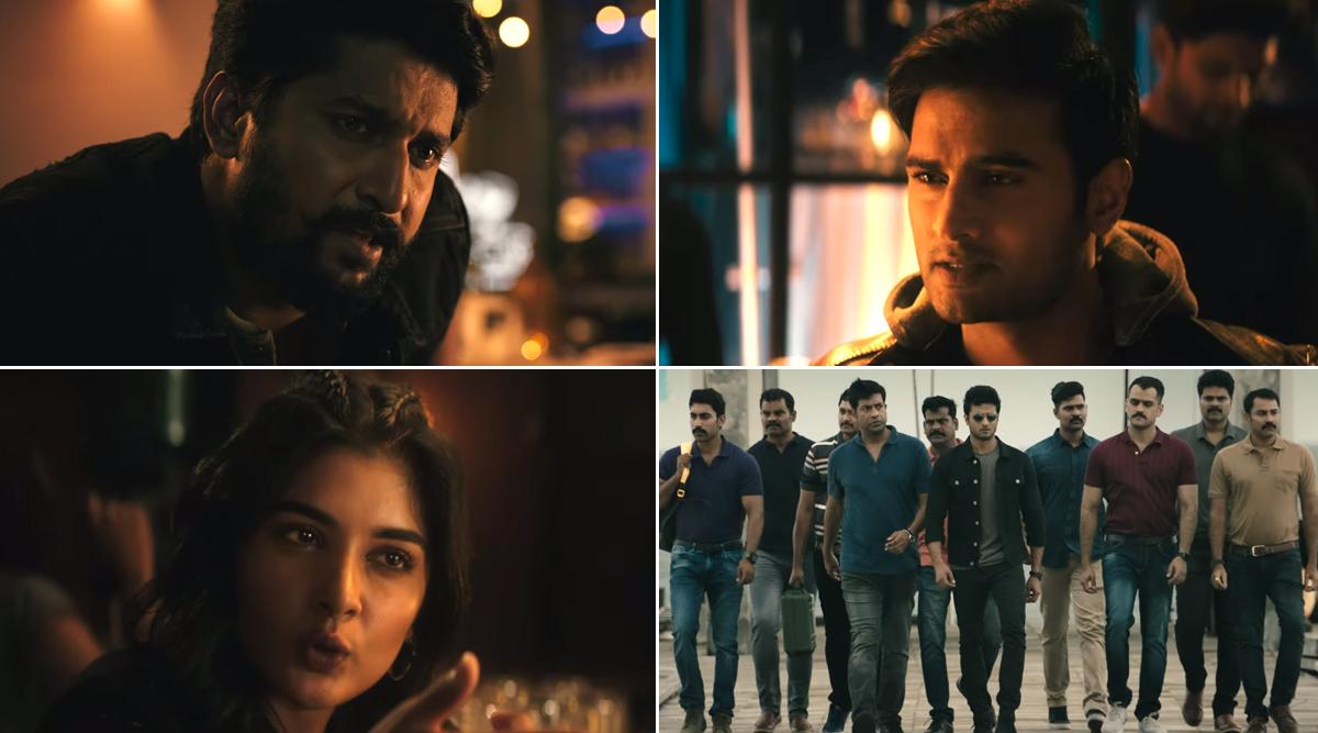 V Teaser: Nani's Antagonist Role Looks Impressive, Sudheer Babu Seems Fierce As a Cop (Watch Video)
