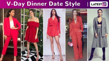 Valentine's Day 2020 Dinner Date Style: Janhvi Kapoor, Alaya F, Shraddha Kapoor, Alia Bhatt, Kriti Sanon Spark Off Those Sartorial, Playful and Chic Vibes.