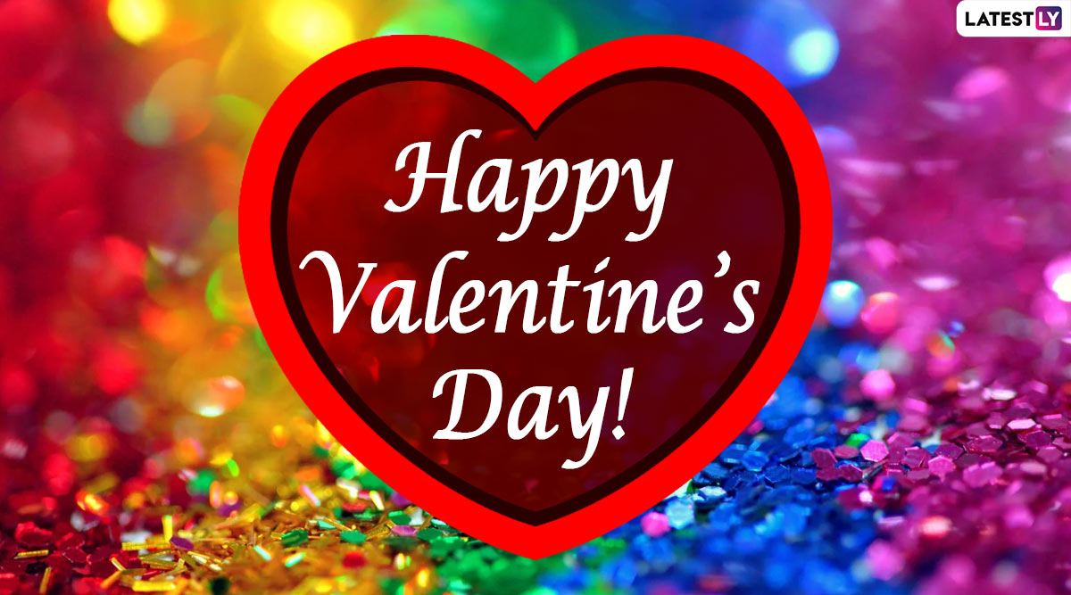 Valentine's Day 2020 Images & 'I Love You' Romantic HD Wallpapers for Free Download Online: WhatsApp Stickers, GIF Greetings and Hike Messages to Send to Your Partner