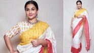 Vidya Balan Spins a Splendid Saree Story and Here's Why It's on Our Wishlist!