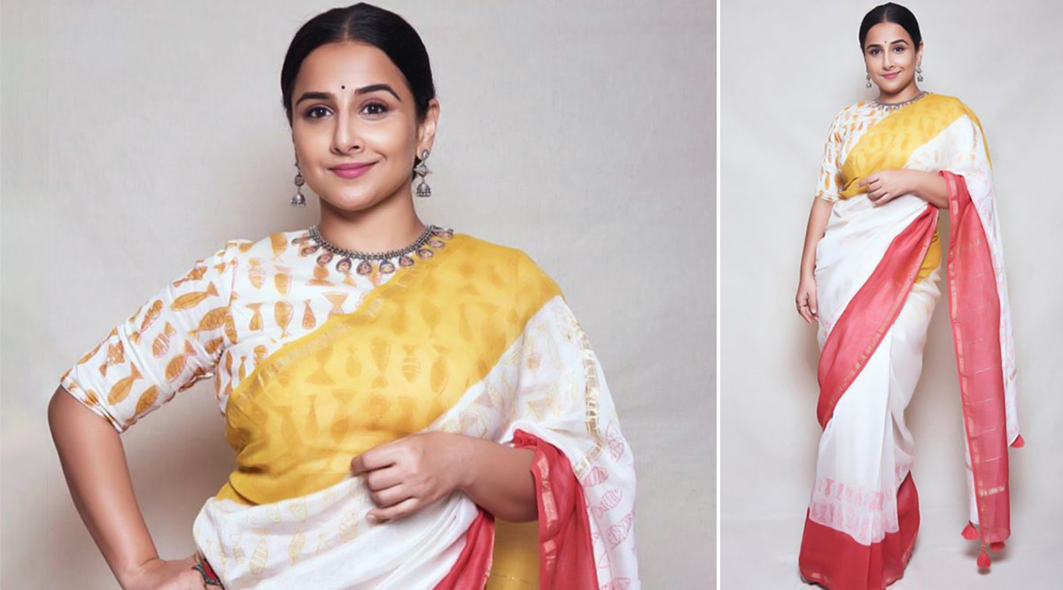 Vidya Balan in Chhapa for a conference at St  Xaviers College 4.'