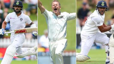 India vs New Zealand 2nd Test 2020: Virat Kohli, Neil Wagner, Mayank Agarwal & Other Key Players to Watch Out for in Christchurch