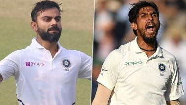 From Virat Kohli Becoming Fastest to 22,000 International Runs to Ishant Sharma Picking 300 Test Wickets, List of Milestones Indian Players Could Achieve During Upcoming IND vs NZ Test Series 2020