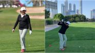Yesteryear Bollywood Actress Vyjayanthimala Shocks Netizens With Her Fitness as the 83-Year-Old Gets Clicked Playing Golf in Dubai (See Pics)