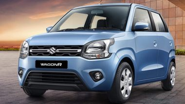 BS6 Maruti Suzuki WagonR S-CNG Variant Launched in India at Rs 5.32 Lakh; Prices, Features & Specifications