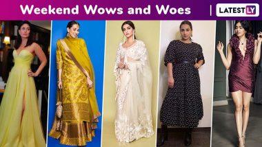 Weekend Wows and Woes: Kareena Kapoor Khan, Sonam Kapoor Ahuja, Karisma Kapoor, Ananya Panday, Vaani Kapoor Woo, Adah Sharma and Vidya Balan Fail!