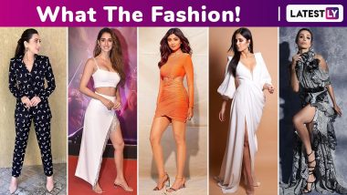 What the Fashion! Katrina Kaif, Malaika Arora, Disha Patani, Shilpa Shetty and Karisma Kapoor Will Astound You With Their Pricey Fashionable Finds!