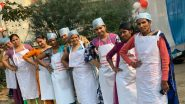 'Period Feast': Women Wearing Aprons With Tagline 'I Am A Proud Menstruating Woman' Cook Food And Serve Meal to 500 People Against Swami Krushnaswarup's 'Bitch' Remark