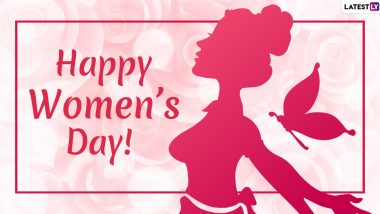 Happy International Women's Day 2020 Messages For Your BFFs: WhatsApp Stickers, GIF Images, Instagram Quotes and SMS to Send Women's Day Wishes