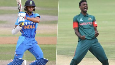 Yashasvi Jaiswal vs Shoriful Islam & Other Exciting Mini Battles to Watch Out for in India vs Bangladesh ICC Under-19 CWC 2020 Final Match