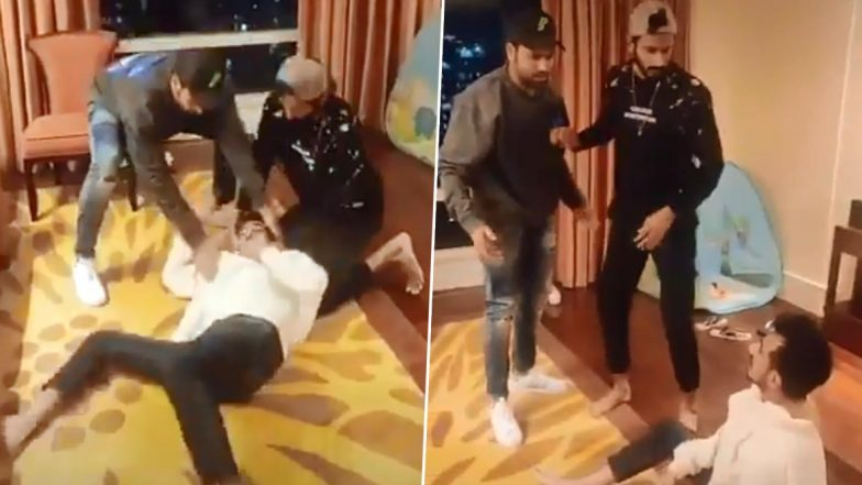 Yuzvendra Chahal, Rohit Sharma and Khaleel Ahmed Hilariously Recreate Scene from Bollywood Movie Dhol in This TikTok Video