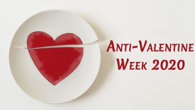 Anti-valentine's Week 2020 Calendar and Full List of Days: From Slap Day to Break-Up Day, Check Date-Sheet to Celebrate Week Post Valentine's Day