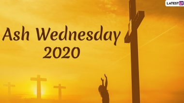 Ash Wednesday 2020 Quotes and Images: Holy WhatsApp Messages and Photos to Share on First Day of Lent