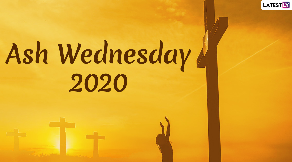 Ash Wednesday 2020 Images With Quotes: Holy WhatsApp Messages and Photos to Share on First Day of Lent
