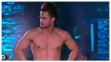 Bigg Boss 13 Preview: Asim Riaz Takes Off His Shirt For Fans As He Watches His Journey (Watch Video)