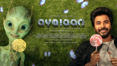 Ayalaan Poster: Sivakarthikeyan Introduces Fans To His Non-Human Friend In The First Look! (View Pic)