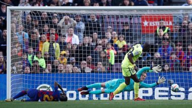 Barcelona and Its Fans Troll Allan Nyom After the Getafe Defender Fouls Samuel Umtiti and Still Remains Goalless