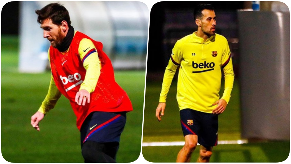 Barcelona Announces 18-Member Squad for Their La Liga Game Against Getafe FC, Lionel Messi &Team Sweats it out Ahead of the Tie (See Pics & Video)