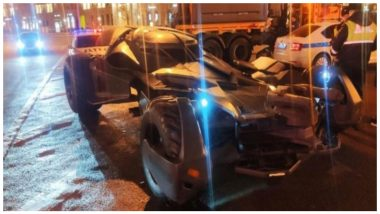 Replica Of Batmobile From Suicide Squad and Batman Vs Superman Seized By Moscow Police
