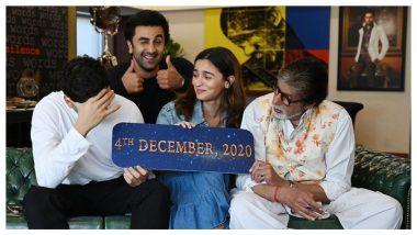 Ranbir Kapoor, Alia Bhatt's Brahmastra To Release on December 4, Amitabh Bachchan Says Ayan Mukerji Can't Change The Date Now
