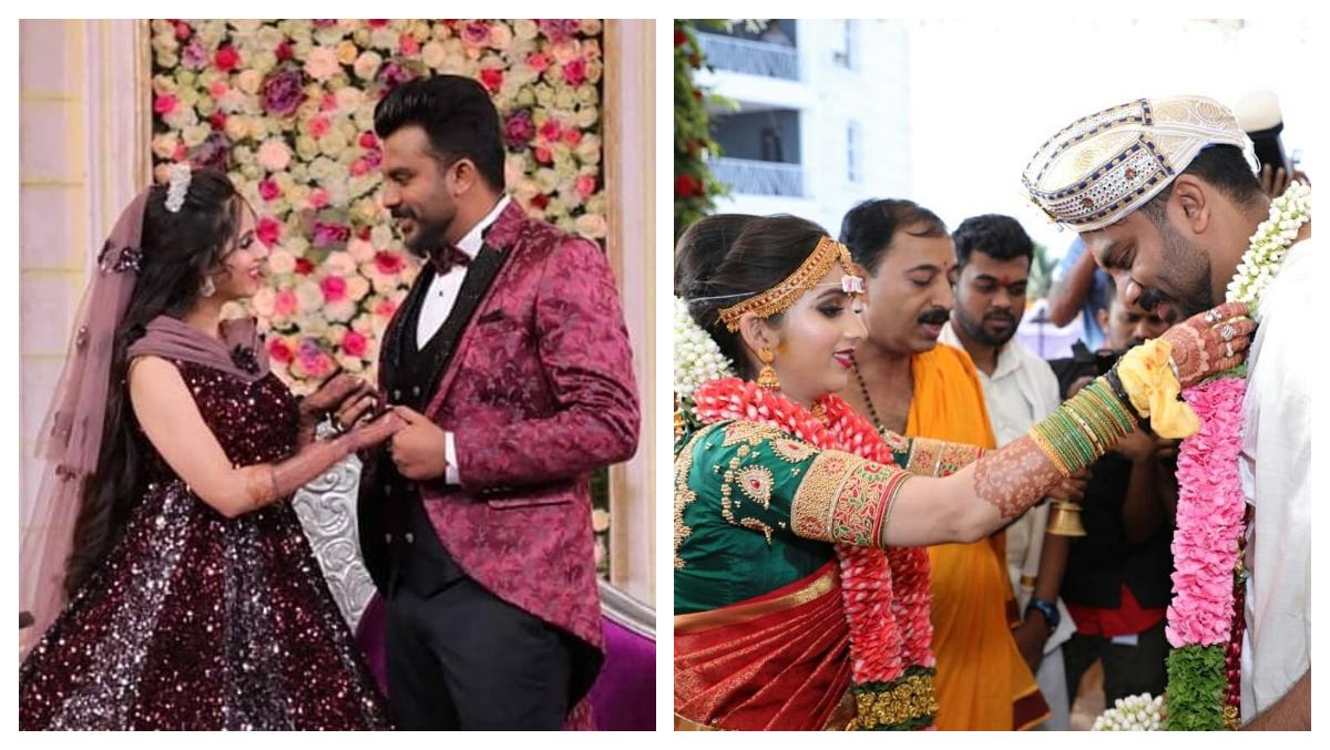 Bigg Boss Kannada 5 Contestants Chandan Shetty And Niveditha Gowda Get Married In Mysore (See Pics)