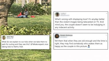 IPS Officer Posts Picture of Couple's 'PDA' at a Park at Delhi, Gets Schooled on Twitter For Moral Policing