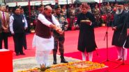Defence Minister Rajnath Singh Lays Foundation Stone for Thal Sena Bhawan in Delhi