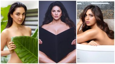 Kiara Advani, Sunny Leone, Bhumi Pednekar Go Topless On Dabboo Ratnani's 2020 Calendar! Which Click Is The Best? Vote Now!