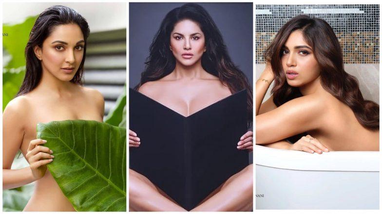 Kiara Advani, Sunny Leone, Bhumi Pednekar Go Topless On Dabboo Ratnani's 2020 Calendar! Which Click Is The Best? Vote Now!