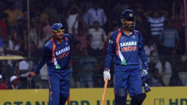 Virender Sehwag Takes a Jibe at MS Dhoni, Says, 'He Never Communicated Before Dropping Us'