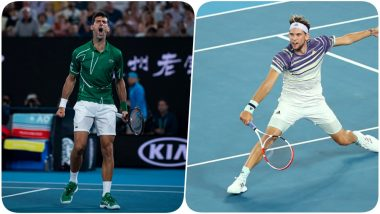 Novak Djokovic vs Dominic Thiem, Australian Open 2020 Free Live Streaming Online: How to Watch Live Telecast of Aus Open Men's Singles Final Tennis Match?