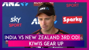 IND vs NZ 3rd ODI: Kiwis Gear Up, Tim Southee Says It's Always Great To Play Against India