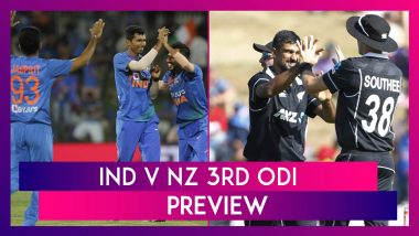 India vs New Zealand 2020, 3rd ODI At Mount Maunganui Preview: India Aim For Consolation Win