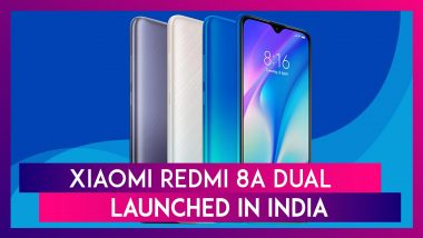Xiaomi Redmi 8A Dual Smartphone Launched In India At Starting Price of Rs 6,499; Price, Variants, Features & Specifications