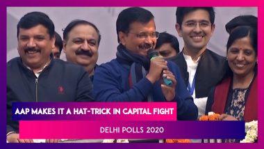 Arvind Kejriwal Says 'I Love You' To Delhi As AAP Gets 62/70, 53% Of Votes Polled | Delhi Polls 2020