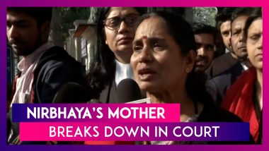 Nirbhaya's Mother Breaks Down In Court During Hearing, Says Judge Is Supporting The Convicts