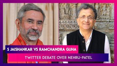 S Jaishankar vs Ramchandra Guha: Twitter Debate Over Jawaharlal Nehru & Sardar Patel's Relationship
