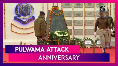 Pulwama Attack Anniversary: Prime Minister Narendra Modi Pays Tribute To The CRPF Martyrs