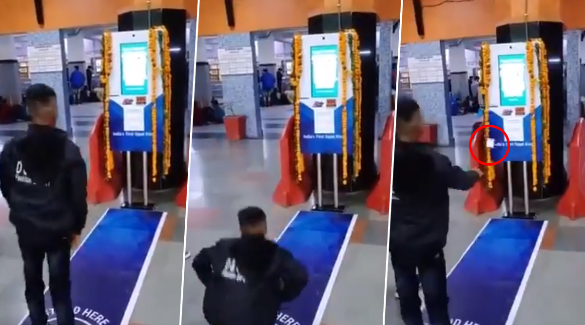 Free Railway Platform Ticket by Performing Squats at Anand Vihar Railway Station in Delhi; Watch Video