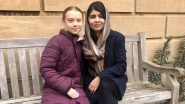 Greta Thunberg Meets Her Role Model Malala Yousafzai, Two Activists Share Their Instant Bond on Social Media (View Pics)