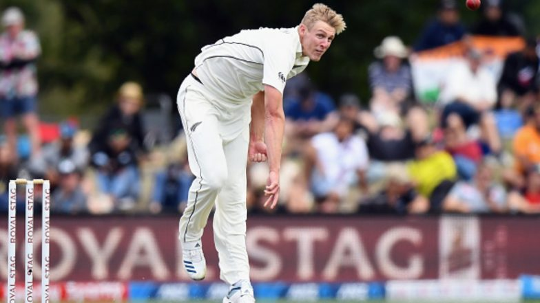 Kyle Jamieson Scalps Maiden Five-Wicket Haul As India Bundle Out for 242 in First Innings of Second Test Against New Zealand