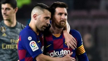 Jordi Alba Angry With Barcelona After 1-1 Draw Against Cadiz in La Liga 2021, Says 'There's No Excuse'