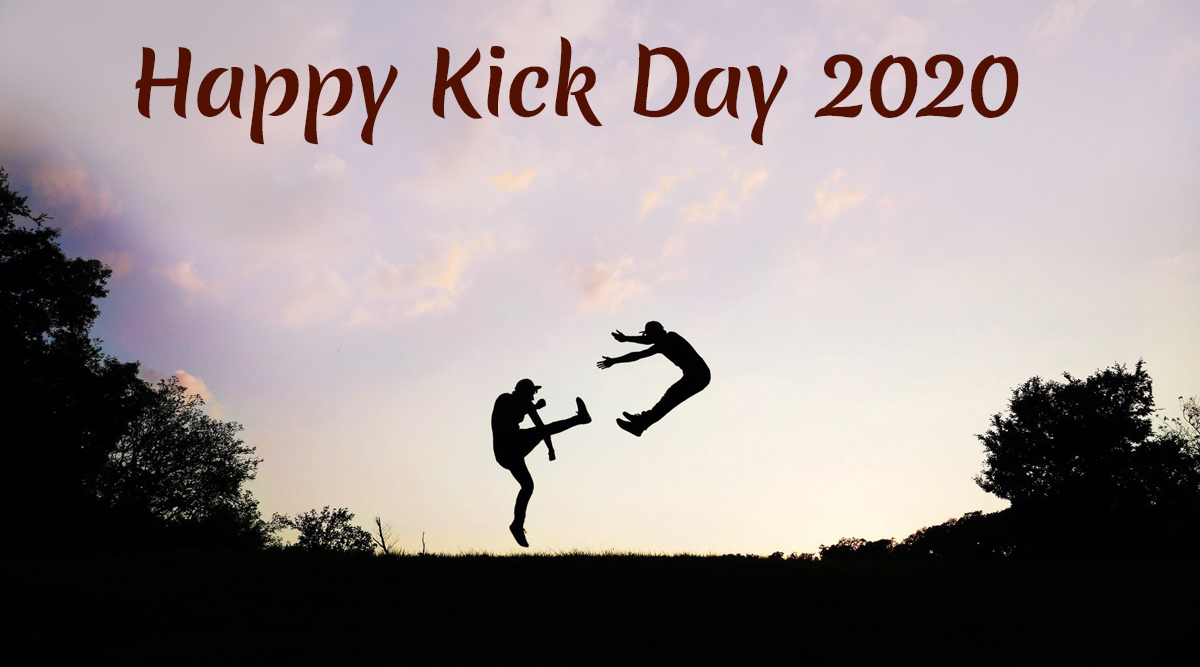 Kick Day 2020 Funny Quotes and Messages: WhatsApp Greetings, GIF Images and Wishes to Send During Anti-valentine Week