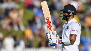 Virat Kohli's Poor Form With Bat and DRS Continues, Dismissed Cheaply Once Again During India vs New Zealand 2nd Test 2020; Fans React to Indian Captain's Batting Woes