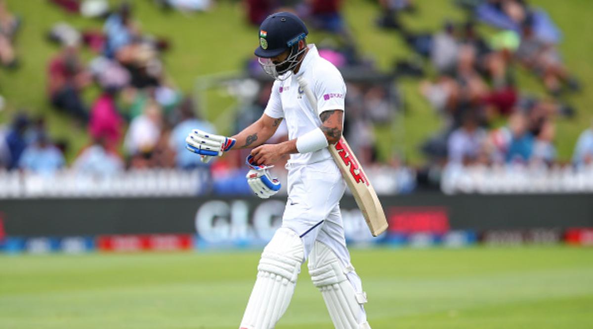 Virat Kohli Falls to Debutant Kyle Jamieson During India vs New Zealand 1st Test 2020, Day 1 (Watch Video)