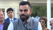 Virat Kohli and Co Visit Indian High Commission in Wellington, Every Team Wants to Beat Us; Says Captain Ahead of First Test Against New Zealand (Watch Video)